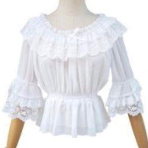 Victorian Lolita Top